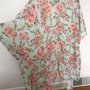 Other - Floral kimono